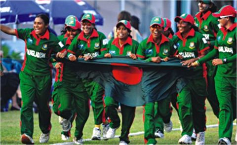 Bangladesh Cricket Team Celebrating After Defeating Ireland Copy